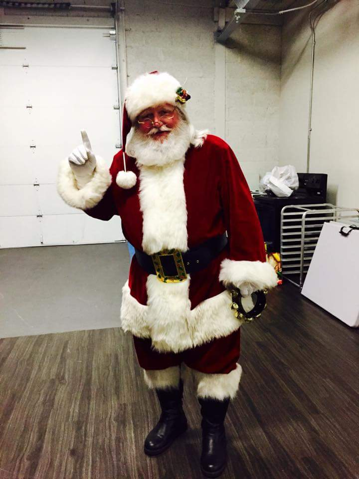 Real Bearded Santa For your Event