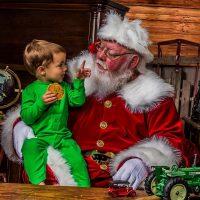Arkansas real bearded  Santa for rent