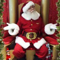 New Jerseys Authentic real beard Santa Claus
