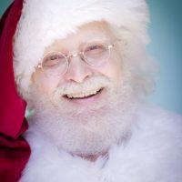 Santa Mario Santa Claus at the L.A. Zoo